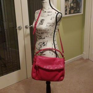 EUC Kate Spade minka crossbody bag in hot pink